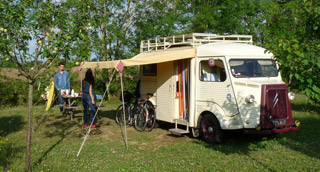 Le camping Le Verger